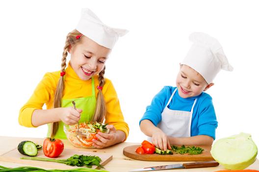 Bimbi cucinano