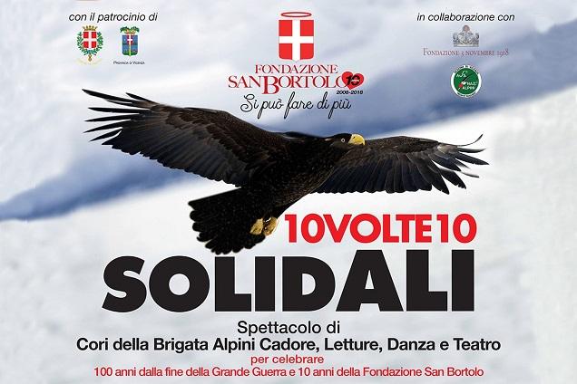 Serenissima Ristorazione sponsor serata solidale Fondazione San Bortolo